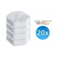 20x FFP2 Atemschutzmaske